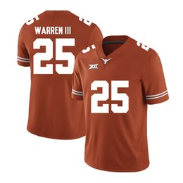 browns orange jersey UK - Chris Warren III Stitched Mens Texas Longhorns Earl Thomas Duke Thomas Fozzy Whittaker Armanti Foreman White Orange NCAA College Jersey