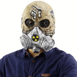 Soldier maSkS online shopping - Horrible Halloween Mask Biochemistry Skeleton Soldiers Mask Zombie Mask Masquerade Scary Masks Halloween Party Costume Prop