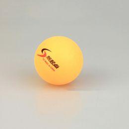Wholesale New 50Pcs lot Tennis White Ping Pong Balls 4cm Orange Table Tennis Balls abs plastic Drop Shipping