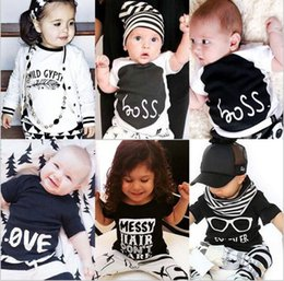 Girls Cotton Undershirts Australia - Kids Clothes Boys Summer T-shirts Toddler Short Sleeve Print Tops Baby Cotton Tees Animal Fashion Shirt Vest Undershirt Girls Clothing B5081