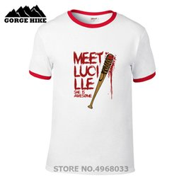 04ca201dd Roll man shiRt online shopping - Faction Style Mens T shirt Meet Lucille  she is awesome