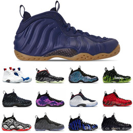 Discount christmas tech Wholesale Vandalized Obsidian glitter Penny Hardaway men basketball shoes Foam One Paranorman Tech Fleece CNY mens train