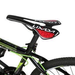Carbon Saddles NZ - Lightweight Full Carbon Fiber Saddle MTB Mountain Bike Seat Road Bike Cycling Hollow Black Glossy Bicycle Seat 275*143mm