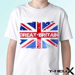 britain flags Australia - Great Britain - white t shirt top GB flag design - mens womens 100% Cotton Tee Tops streetwear pride t shirt men Free Shipping