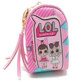 Cute Gifts Coin Purses UK - Cute Surprise Girls Bag Pendant Wallet Cartoon Kids Children Mini Fashion Bags Coin Purse Woman Wallet Princess Handbags Gifts VT0083