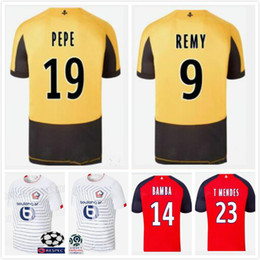 football clubs NZ - Thailand LOSC Lille 2019 2020 soccer jerseys Lille Olympique Sporting Club football shirt PEPE REMY BAMBA R. LEAO IKONE maillot de foot top