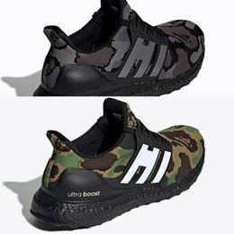 UltraBoost Размер 13 Ultra Boosts 4.0 Кроссовки Camo Зеленый Черный Тройной Черный Мужчины Женщины, DHgate Интернет-магазины Обезьяна Обувь Темно-синий Многоцветный