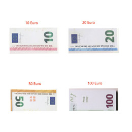 $enCountryForm.capitalKeyWord NZ - 100pcs set Prop Copy Fake Money Kids Learning Tool Toys for Films Video 10 20 50 100 Euro 100 Dollar