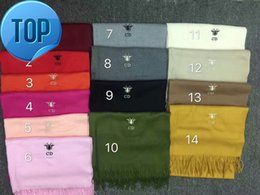 $enCountryForm.capitalKeyWord Australia - zhu 2018 Check Women Wool Cotton Cashmere Silk Scarves Scarf Wrap Shawl Pashmina 180x70cm