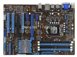 motherboard b75 2019 - Free shipping original motherboard for P8B75-V DDR3 LGA 1155 B75 32GB for I3 I5 I7 CPU USB 3.0 b75 Desktop motherborad d