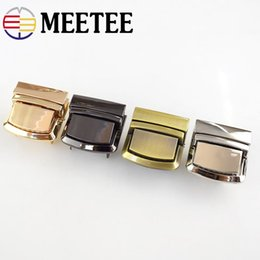 fb0baa91c27 Meetee Metal Bag Snap Lock Handbag Clasps Closure Buckle DIY Purse Clasps  Locks Button Bags Accessories Replacement Buckle AP388