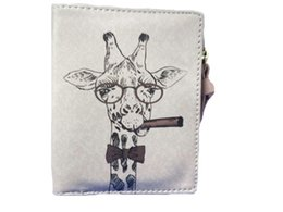 $enCountryForm.capitalKeyWord Australia - Sleeper #501 2019 NEW Women Vintage Giraffe Coin Clip card wallet Purse Short Wallet Clutch small Hand bags gifts Free Shipping
