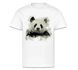 $enCountryForm.capitalKeyWord Australia - 2019 T-Shirt weiß Motiv Panda aus Caro Art Aquarelle coole Tiere