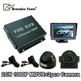 $enCountryForm.capitalKeyWord Australia - 2 channel 1080P Full HD Mobile DVR MDVR Kit Including 2.0MP AHD Dome Camera + Side View Camera used for taxi bus ruck car