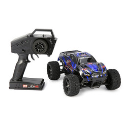 brushed car NZ - RC Car 1 16 Scale 2.4G 40km h High Speed 4WD Brushed Off-Road Truck Big Wheels Bigfoot RC Car Remote Control Kids Gift