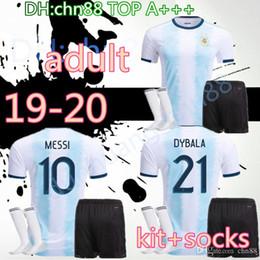 $enCountryForm.capitalKeyWord Australia - Copa America 2019 men Argentina soccer jersey 2020 adult KITS+socks 19 20 MESSI DYBALA MARADONA AGUERO DI MARIA HIGUAIN football shirts