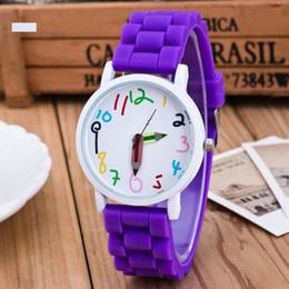pencil watches 2019 - Silicone Watches Children Pencil Pointer Student Watch Quartz Wristwatches Gift Watches JS24 cheap pencil watches