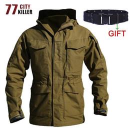 $enCountryForm.capitalKeyWord Australia - 77CIty Killer M65 Tactical Jacket Men Autumn Winter Windbreaker Army Long Coats Outwear Combat Waterproof Field Jackets