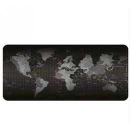 mouse pad world UK - Hot 5 Size Extended Large Non-Slip Laptop Computer Keyboard Mice Mouse Mat Desktop Pad Mats World Mat Mouse Pads