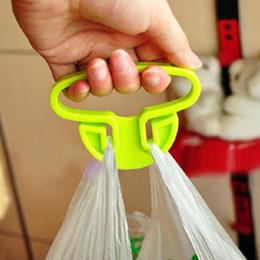 Plastic shoPPing bags online shopping - 10pcs Plastic Shopping Bag Hook Creative Portable Lifter Bag Hanger Supermarket Bags Carrier Holder Storage Rack Holder