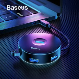 3.5 hard drives 2019 - Baseus Multi USB 3.0   Type C HUB to USB3.0 + 3 USB2.0 for Macbook Pro HUB Adapter for Huawei P20 Computer Hard Drive Ac