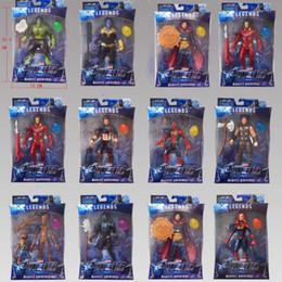 2019 nueva llegada Vengadores de Marvel 4 figuras de acción Sorpresa Capitanes Thanos muñecas de sonido con los juguetes de dibujos animados luz y el movimiento en venta