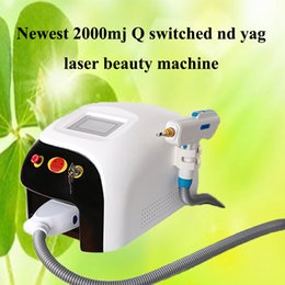 $enCountryForm.capitalKeyWord NZ - 2019 Newest 2000mj Q switched nd yag laser beauty machine 1000w touch screen tattoo removal scar acne removal 1320nm 1064nm 532nm