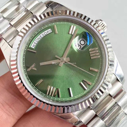 $enCountryForm.capitalKeyWord Australia - 12 Colors Men Luxury Watch Silver Watch 40mm Sapphire Mirror 228238 Series High Quality Automatic Movement Original Folding Buckle