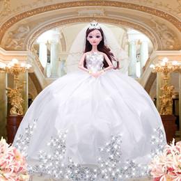 Really Dresses Australia - Lele Barbie Doll Doll Facelift 3d Really Eye Will Tailing Wedding Dress Princess Girl House Toys