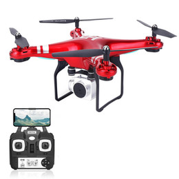 video rc UK - SH5HD FPV Drone with 1080P WIFI Camera Drone Live Video Altitude 2.4GHz 4 Channels 6 Axis Gyro RC Helicopter with 2 3 Batteries