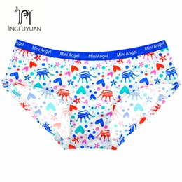 545c4a23d26 Print Design Girls Panties Cute Hand Drawing Style Briefs Soft Cotton  Panties Comfortable Print Picture Panty Cotton Underwear