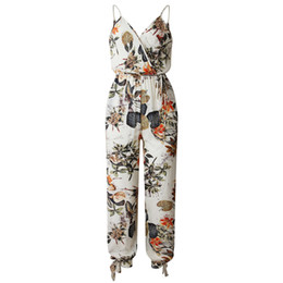 $enCountryForm.capitalKeyWord Australia - Womail 2018 Summer Jumpsuits For Women 2018 Plus Size Elegantes Casual Sleeveless V-neck Strap Lace Jumpsuit De Fiesta Mujer MX190726