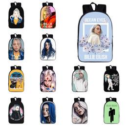 $enCountryForm.capitalKeyWord Australia - Billie Eilish Backpack 13 Designs Billie Eilish Printed Large Capacity Kids Backpacks Student Schoolbags designer backpack DHL SS322