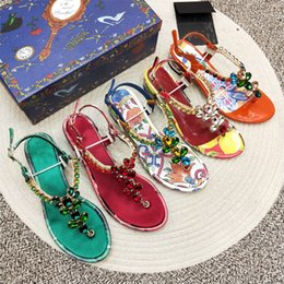 $enCountryForm.capitalKeyWord Australia - Plus Size 35-42 Flats Summer Women's Sandals 2019 New Fashion Casual Shoes For Woman European Rome Style Sandalias