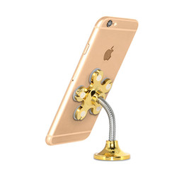Mobile phone decorations online shopping - Home Magic Mobile Phone Bracket Silicone Double Side Sucker Bracket Fashionable Home Decoration Vehicle Navigation Bracket T3C5006