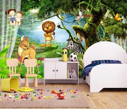 $enCountryForm.capitalKeyWord Australia - Custom Mural 3d Wallpaper Fantasy Forest Aesthetic Cartoon Children's Room Kids Room Wall Decoration Wallpaper