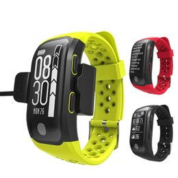 Discount gps tracking sports - 2019 Sports Smart Watch Men's S908 swimming Fitness dynamic heart rate IP68 Bluetooth GPS track waterproof Women sm