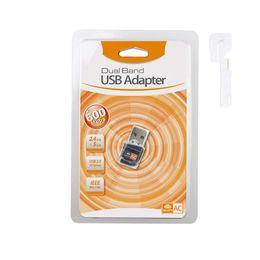 600 Мбит / с USB WiFi адаптер двухдиапазонный RTL8811CU беспроводная сетевая карта Mini Lan 600 м Wi-fi Dongle 802.11 AC