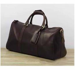 $enCountryForm.capitalKeyWord UK - 2019 New Fashion Men Women Travel Bag Duffel Bags, Brand Designer Luggage Handbags Large Capacity Sport Bag 62CM Luggages Bags Messenger