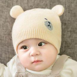 14db18c879f Newborn Hats Australia - Autumn Winter new knit Baby Hat cute cotton  Newborn Baby Hats Infant