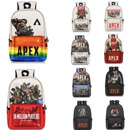 pack games 2019 - Apex legends backpack Respawn day pack New hero school bag Game packsack Leisure rucksack Sport Outdoor bags AAA1863 che