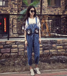 Large hoLe buttons online shopping - 2019 Social women s suspenders fast red hand web celebrity ghost doll with popular logo printing holes loose large size suspenders women