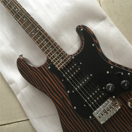 ElEctric guitar nEck lEft online shopping - Factory Custom Red Body Electric Guitar with White Pickguard Pickups Maple Neck Chrome Hardwares Offer Customized