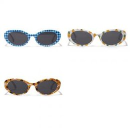 d5c437fbda Lindo Unisex Flor Oval Gafas de sol Moda Hip Hop Fruta impresa Retro Clear  Lens Eyewear Classic Travel Beach Shades LJJT317