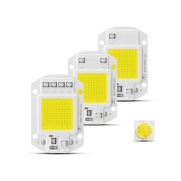 bulb led chip diode Canada - COB LED Chip AC 220V 3W 5W 7W 9W 20W 30W 50W Led cob chip Diode Smart IC Driver For DIY LED Floodlight Spotlight Bulb