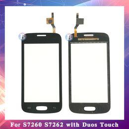 "$enCountryForm.capitalKeyWord Australia - 10Pcs lot 4.0"" For Samsung Galaxy Star Pro S7262 GT-S7262 S7260 GT-S7260 Touch Screen Digitizer Sensor Outer Glass Lens Panel"