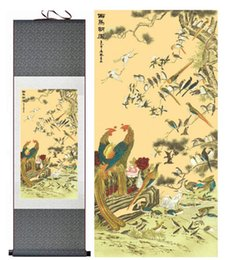 Art Canvas Prints Australia - Birds And Flower Painting Home Office Decoration Chinese Scroll Painting Flower Art Chinese Paintingprinted Painting2019061533