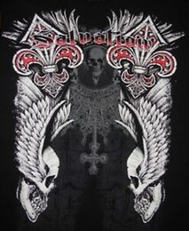 Wholesale skull graphic t shirts online – design ACES amp IDOLS SALVATION SKULLS WITH WINGS Men s M Graphic T Shirt