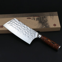 $enCountryForm.capitalKeyWord NZ - 7inch Stainless Steel Kitchen Knife Chef Knife Cleaver Santoku Knives Butcher Knife with Color Wood Handle