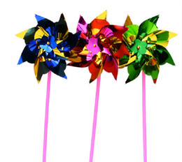 $enCountryForm.capitalKeyWord Australia - Pinwheels Set Assorted Colors, Fun Carnival Toy and Party Favor Amazing Gift Idea for Boys and Girls Ages 3+ (Random Color)